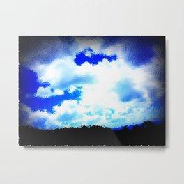 Cloven Skies Metal Print