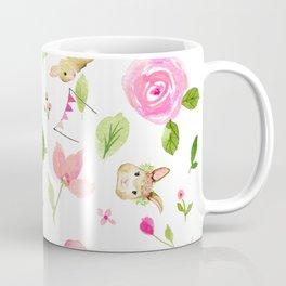 Bunny Beats Turtle Coffee Mug