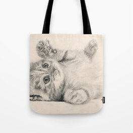 Rub my belly... Tote Bag