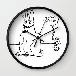 Squeak Wall Clock