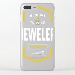 Jeweler-Logo-Tees Clear iPhone Case