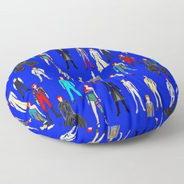 Blue Heroes Group Fashion Outfits Floor Pillow