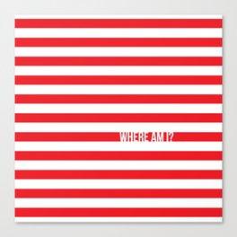 Self Aware Waldo Canvas Print