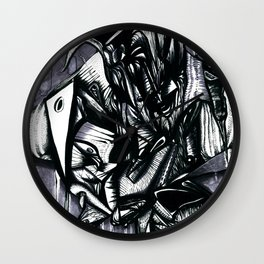 Forms Wall Clock
