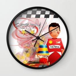 FX Nando Wall Clock