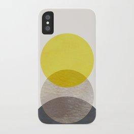 SUN MOON EARTH iPhone Case