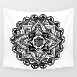 Mandala Circles Wall Tapestry