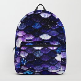 Mermaid Glitter Scales Backpack