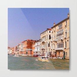 Grand Canal, Venice Metal Print