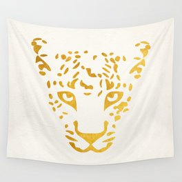 LEO FACE Wall Tapestry