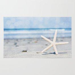 Starfish By The Seashore  Rug