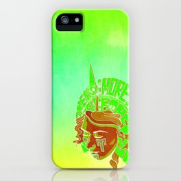 Something More than Flesh and Bone iPhone Case