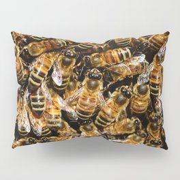 Honey Bees Pillow Sham