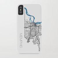 memphis iPhone & iPod Cases featuring Memphis by linnydrez