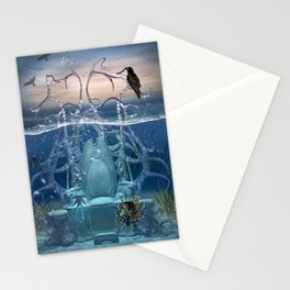 Neptuns Thron Stationery Cards
