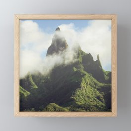 Marquesas Islands Of Mystery Framed Mini Art Print