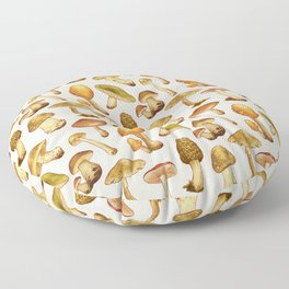 Wild Mushrooms Floor Pillow