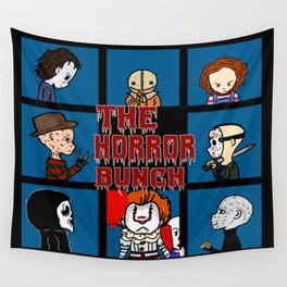 The Horror Bunch: Slashers Unite Wall Tapestry