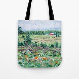 Gettysburg Farm Tote Bag