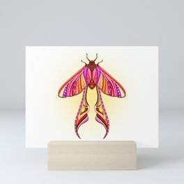EtEHtH Moth (Original) Mini Art Print