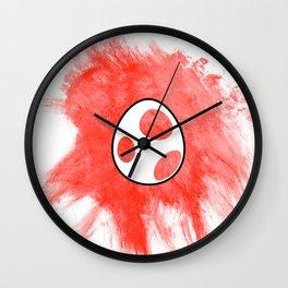Red Yoshi Egg Wall Clock