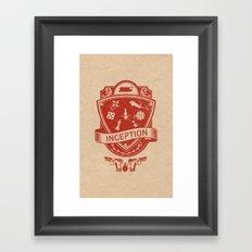 Totem Emblem Framed Art Print