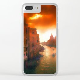 Inferno Is Coming Clear iPhone Case