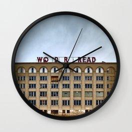 Abandoned Bread Factory Wall Clock