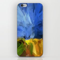 Wheat Field, Storm Approaching iPhone & iPod Skin
