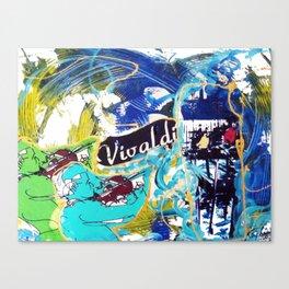 VIVALDI: Concerto for Two Violins          by Kay Lipton Canvas Print