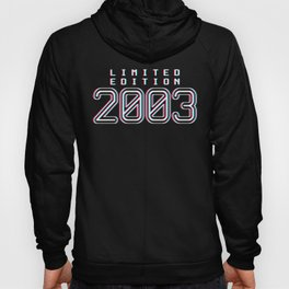Limited Edition 2003 17th Birthday Gift Hoody