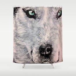Spirit of White Wolf Shower Curtain