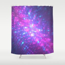 2017 Vibes Shower Curtain