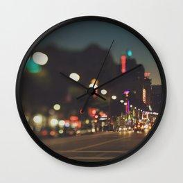 Hollywood Boulevard. Los Angeles Wall Clock