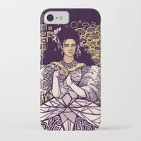 sarah paulson iPhone & iPod Cases featuring Sarah  by Karen Hallion Illustrations