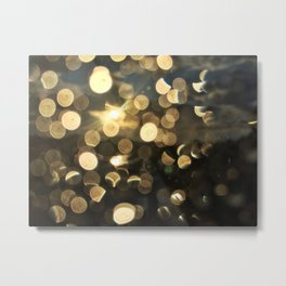 Sun Shower in Portland, Maine (1) Metal Print