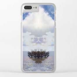 Realms of Direction Clear iPhone Case