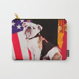Bulldog Navy Official Mascot Dog Carry-All Pouch