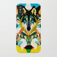 wolves iPhone & iPod Cases featuring wolves by Alvaro Tapia Hidalgo