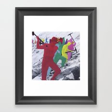Chain Gang Framed Art Print