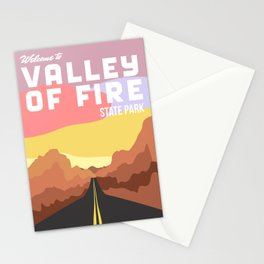 Valley of Fire State Park Stationery Cards