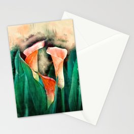 Chill Moment #floral #society6 #watercolor Stationery Cards