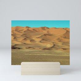 Sand Dunes Sahara Desert Landscape 11 Mini Art Print