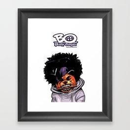 Preppin for wu day! Framed Art Print