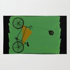 confidant II. (bicycle) Rug