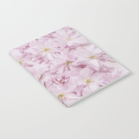 Sakura- cherryblossoms pattern Notebook