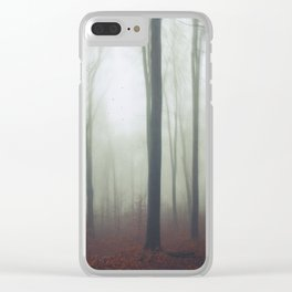 undisturbed Clear iPhone Case