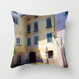 Egna, South Tryol, Italy Throw Pillow