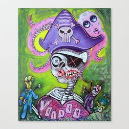 Pirate Voodoo Canvas Print