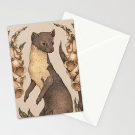 The Marten and Foxglove Stationery Cards